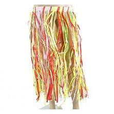 havajská sukně - barevná - délka 70cm