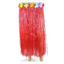 havajská sukně červená 70cm