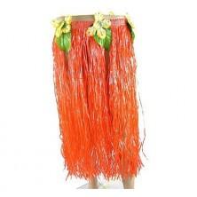 havajská sukně oranžová 70cm