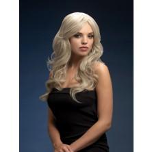 Dámská paruka Nicole stříbrná blond