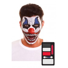 Make up Sada Evil Clown