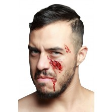 imitace zranění obličeje