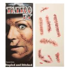 Tetování Zranění různé druhy