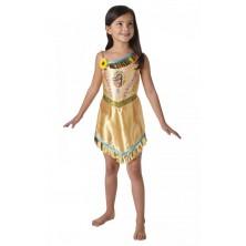 Dívčí kostým Pocahontas
