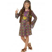 Dívčí kostým Hippie