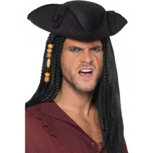 Klobouk Pirát černý