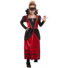 Dětský kostým Vampírka s maskou