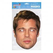 Papírová maska Brad Pitt