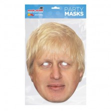 Papírová maska Boris Johnson