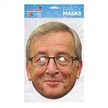 Papírová maska Jean Claude Juncker