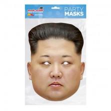 Papírová maska Kim Jong Un
