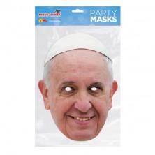Papírová maska Papež František