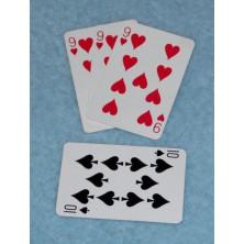 Kouzlo Proměna prostřední karty