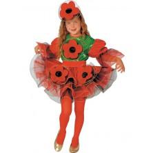 Dívčí kostým Maková panenka